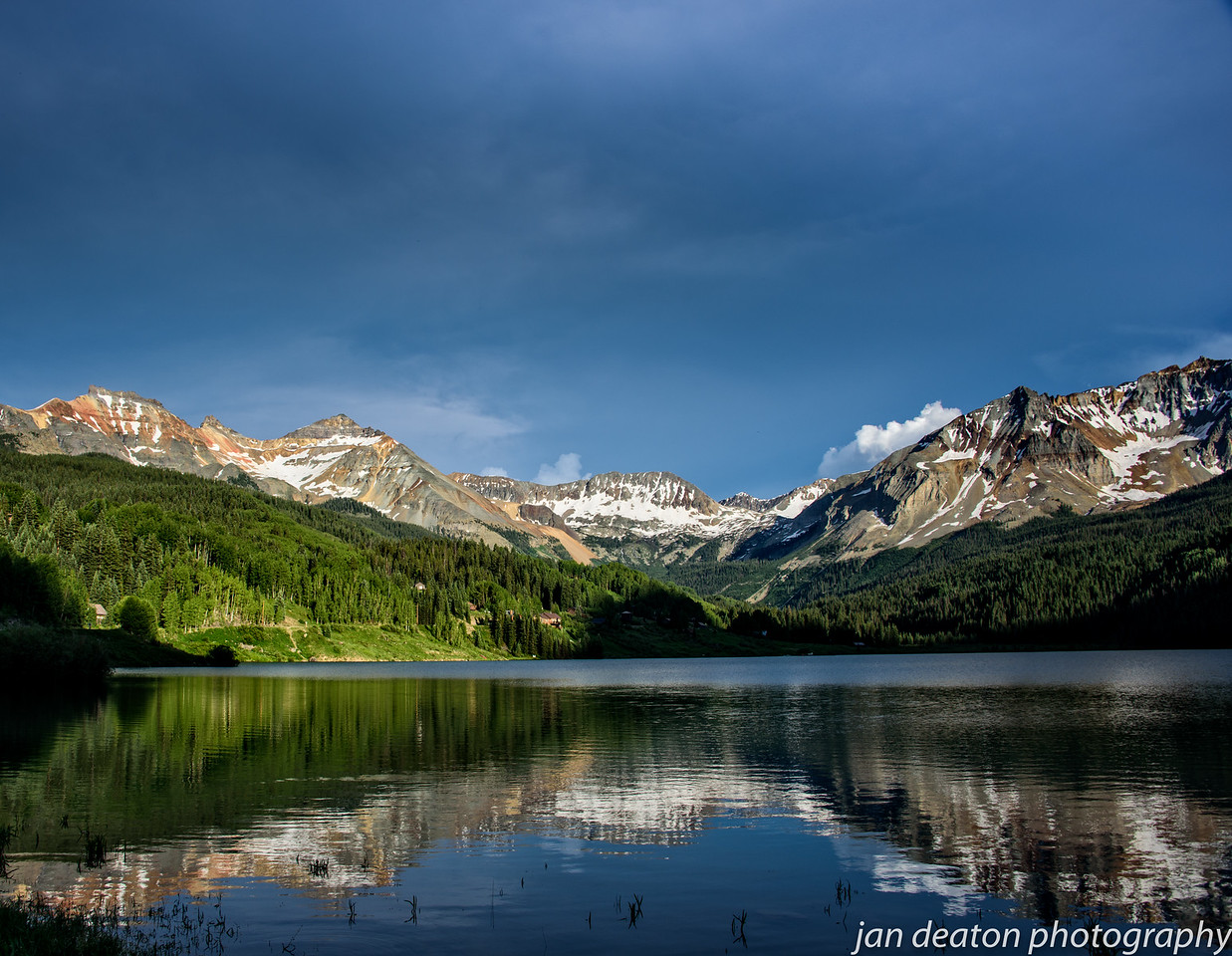 Telluride Lake Reflections