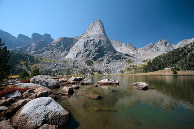 Pingora Peak, Wind River Range, Sept 2006