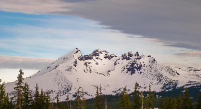 Broken Top, seen from Mt. Bachelor, Oregon