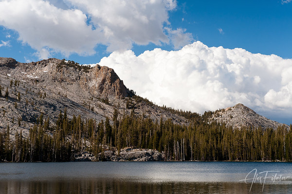 Clouds over May Lake