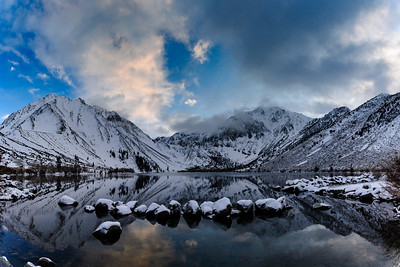 Evening at Convict Lake, CA