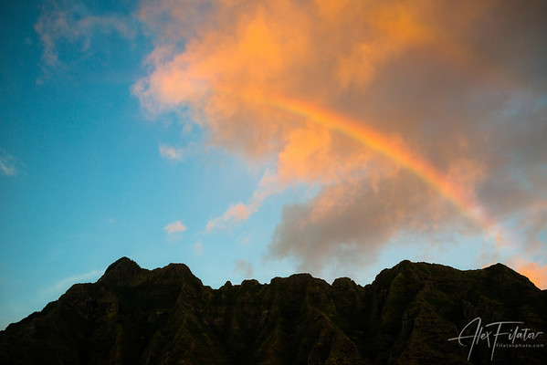 Oahu Mountain Light