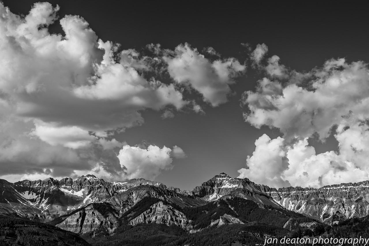 Telluride Ridge/B&W
