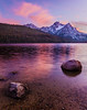 Stanley Lake Sunset, Sawtooth Mountains, Idaho.