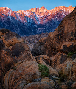 Mt Whitney, Alabama Hills