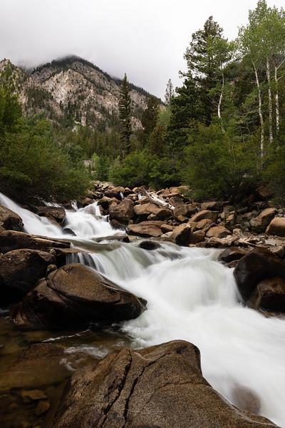 Chalk Creek Waterfall