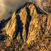 The face of the Eastern Sierra Nevada Mountains