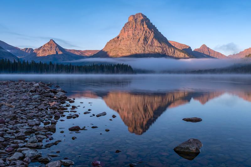 Sinopah Mountain Reflection