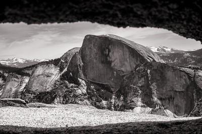 Half Dome from North Dome, Yosemite