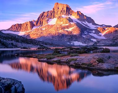 Banner Peak & Thousand Island Lk, E. Sierra