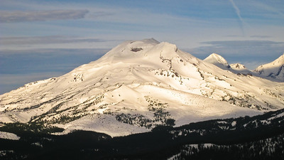 South & Middle Sisters -- Mt. Bachelor, Oregon