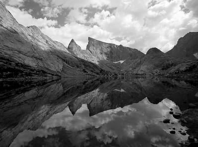 Deep Lake, Wind River Range, Sept 2006