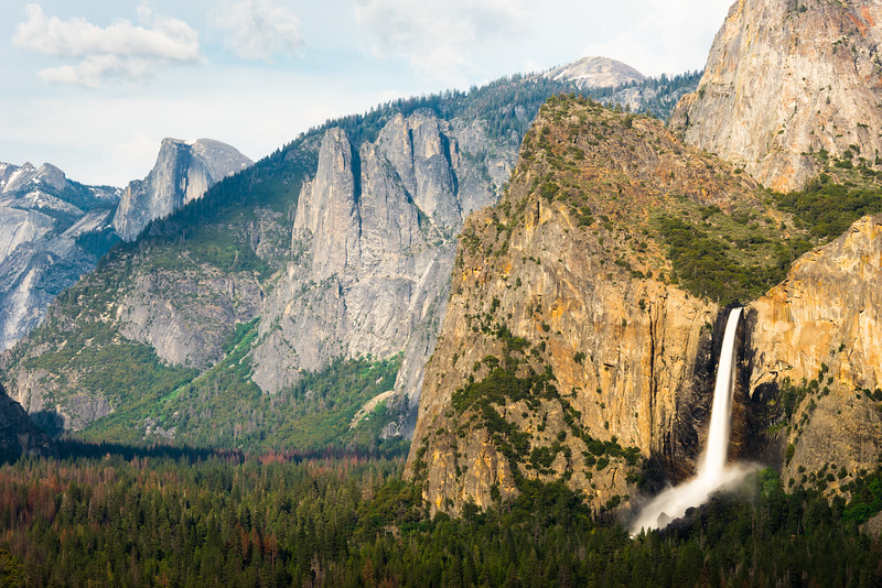 Bridalveil Fall, Yosemite Valley