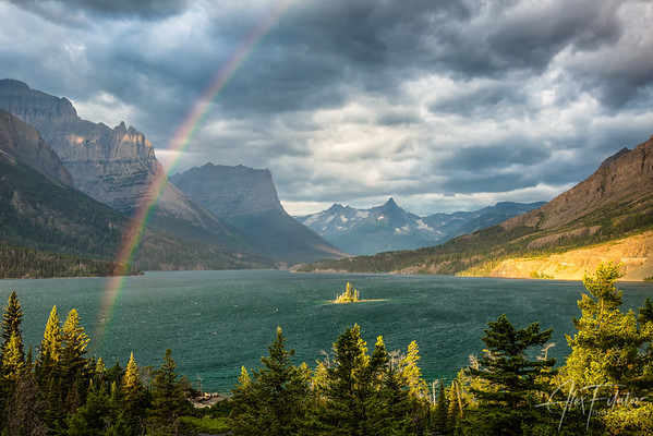 Rainbow Over Wild Goose Island