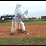 rule 7.08 A3 Player must get around a fielder with the ball. Fielder must not block runner when they don't have the ball. E-Rules_Video_J