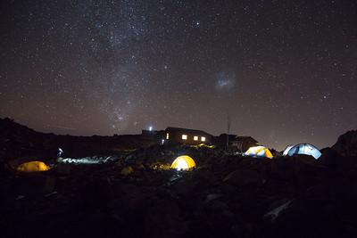 Mt Kenya's High Camp