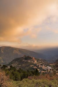 Coaraze, the village of the sun