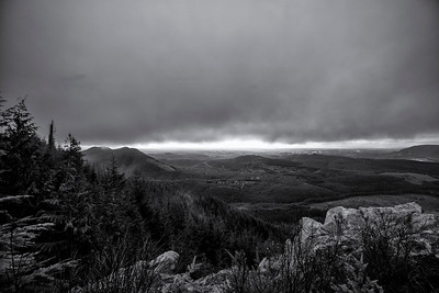 thick clouds from mount pilchuck