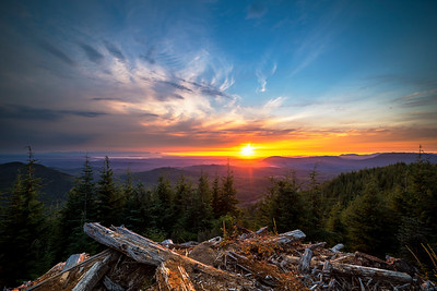 Mount Pilchuck Sunset