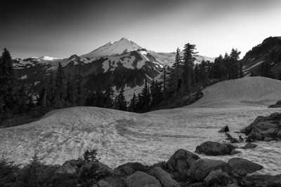 Sunset at Mount Baker