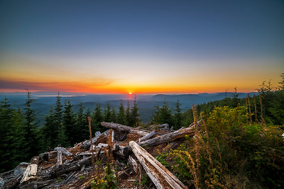 Sunset from Pilchuck