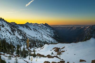 Sunrise at Ingalls Pass
