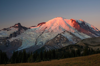 Rainier in red