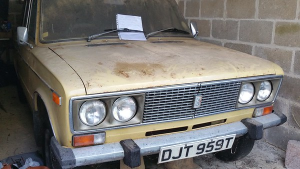 A Lada from 1978.