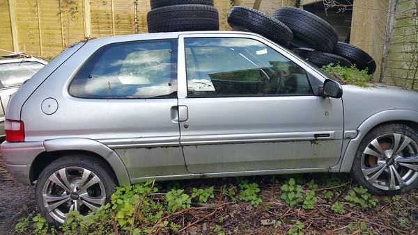 A more up to date Citroen Saxo