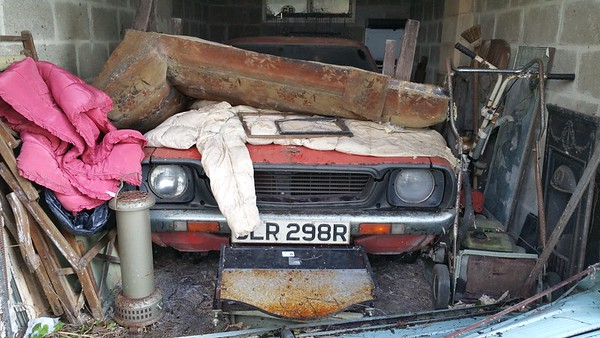 A Datsun from 1976..someone said it was a 120Y but I cannot verify this.