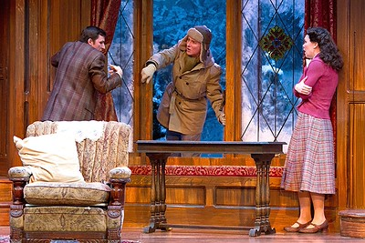 Broadway, Walnut Street Theatre - Window and Window Seat in Action