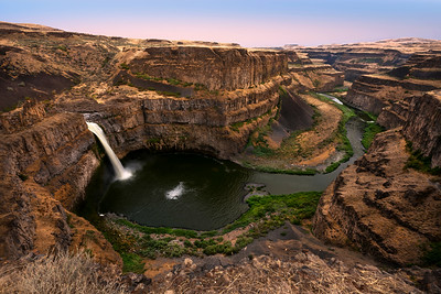 Palouse Falls on the Palouse River, Washington