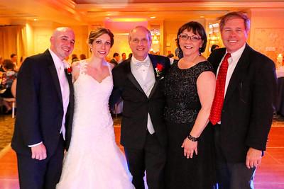 Mike and Sarah, Kathy and Dave Moutner, Bill Howard - Amanda Moutner-Mike Marcucci wedding, May 23, 2015, Basking Ridge, NJ