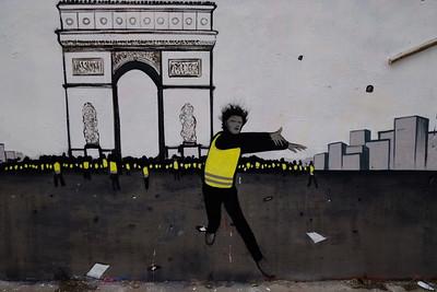 """Un hiver jaune"" / Black Lines"