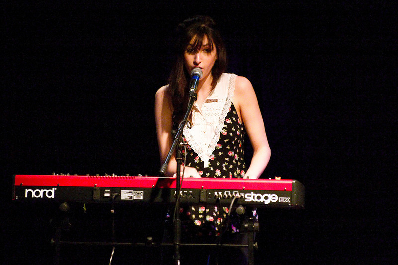 Lucy Schwartz opened for The Civil Wars, offering some strikingly beautiful melodies.