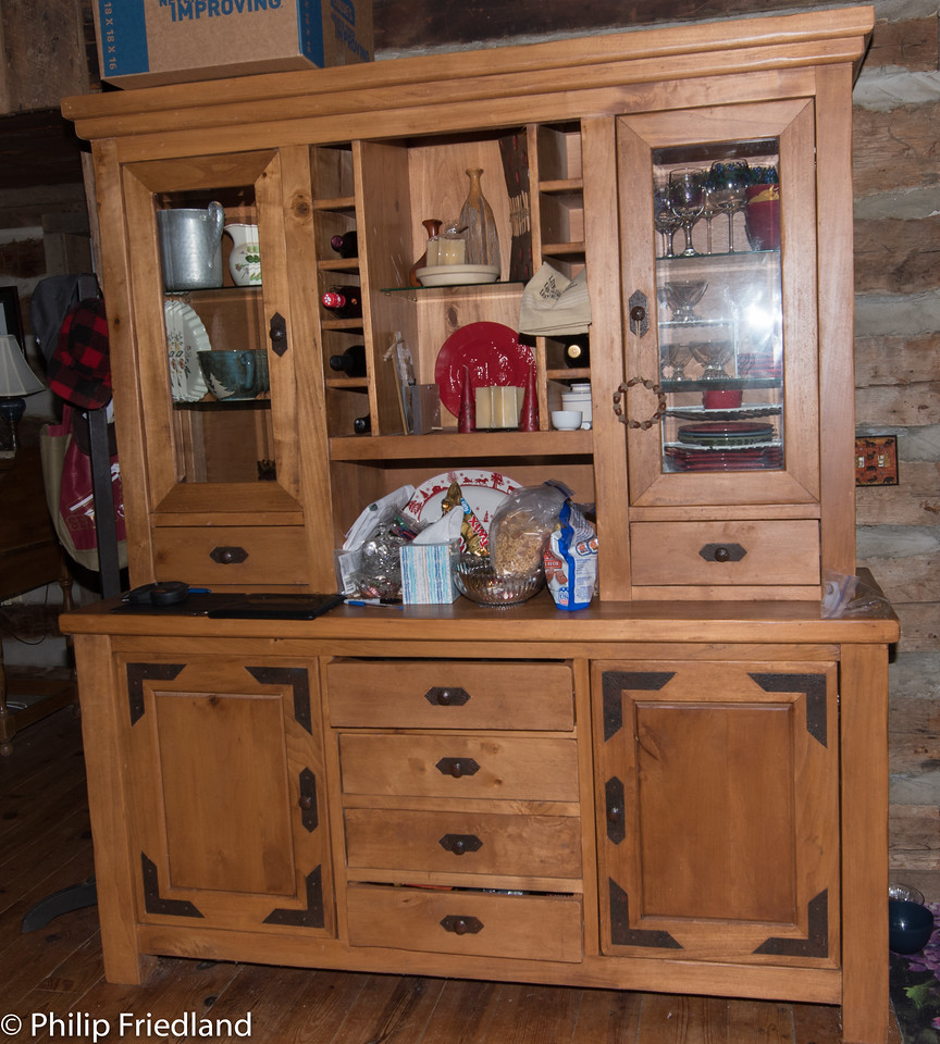"large kitchen pantry- 2 pieces-71""*21""*35"", bottom, top separates-66'*46""*16""top"