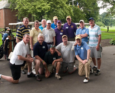 Top row: Mike Lynch, Larry (friend of John Minton), John Huttner, Ray Doyle,  Bill Conry, John Dwyer, Ed O'Connor, Rich Deneen; Bottom row: Jim Collins, Tom Murray, Peter Kirwin, Ed O'Keefe, Gerry McGee