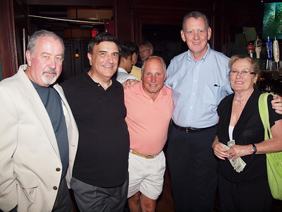 Ed O'Keefe, Rich Mattera, Peter Kerwin, Jim Collins and Andrea O'Keefe