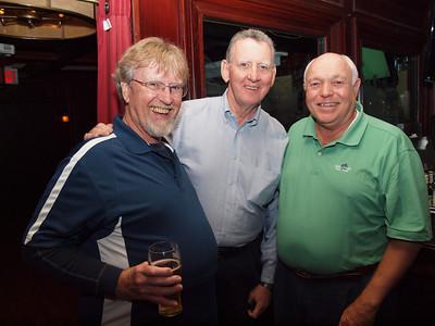 Art Hyde, Jim Collins and John Huttner