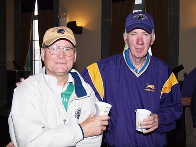 Ready for Golf...Gerry Gay and John Minton