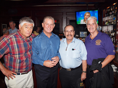 At O'Casey's: Louis Travaglino, Mike Lynch, Hector Guzman and Tom Turner