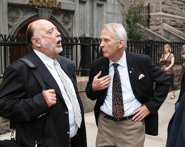 Marshall Hunter and Tom Morgan