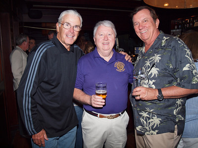 Jerry Croke, Bill Conry and Chris Bennett
