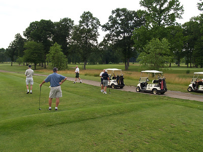 Starrting off at the First Tee