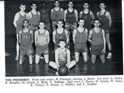 1057-58, Freshman Basketball