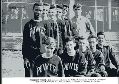 1957-58, Freshman Track