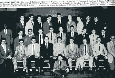 1957-58, Freshman Bowling