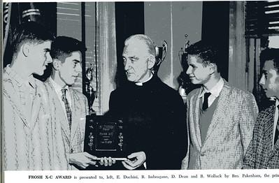 Freshman Trophy Winners