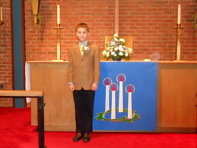 Owen First Communion