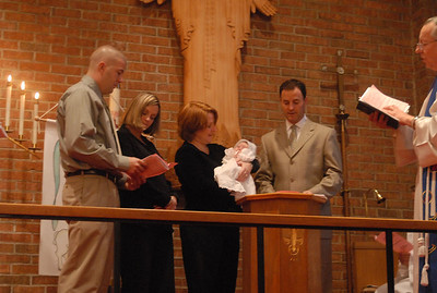 Riley's Baptism December 2008